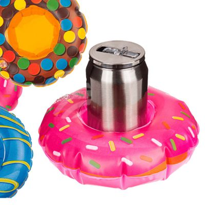 Opblaasbare bekerhouder donut
