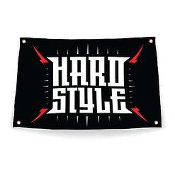 Festival vlag hardstyle