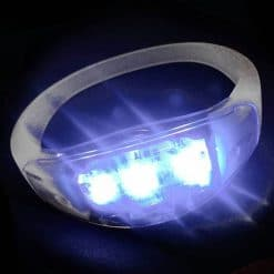 LED armbandje wit