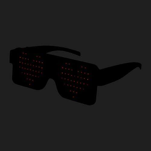 LED bril donker