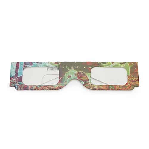 Kartonnen spacebril