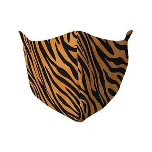 Gezichtsmasker met tijgerprint