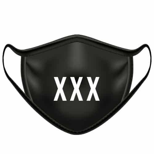 XXX mondkapje